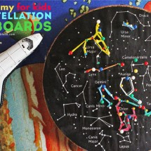 Kids' Astronomy Project: Constellation Geoboards