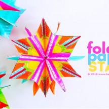 Mini Folded Paper Stars