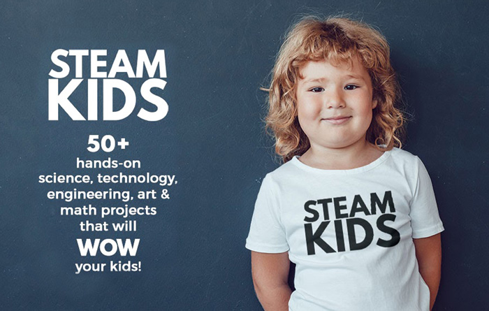 Awesome STEAM Project Resource: The STEAM Kids Book