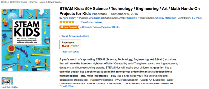 STEAM KIDS: Great STEAM project resource guide for parents and educators!