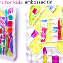 Folk Art Project for Kids: Hojalata (Tin) Art