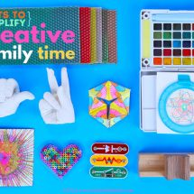 Gifts to Simplify Creative Family Time