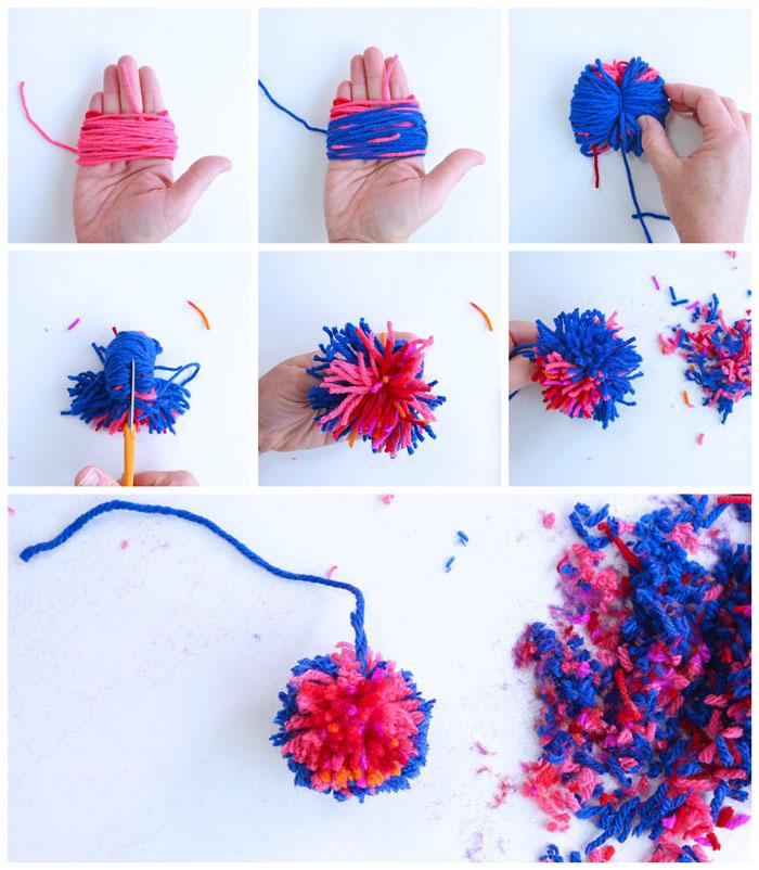 Creative Basics: How to Make Pom Poms - Babble Dabble Do