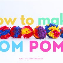 Creative Basics: How to Make Pom Poms