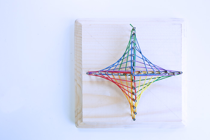 String Art Triangle