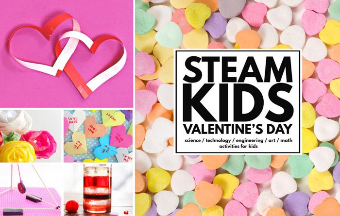 Valentine's Day Ideas: STEAM Kids Valentine's Day eBook