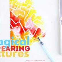No-Prep ArtProject: Magical Appearing Pictures