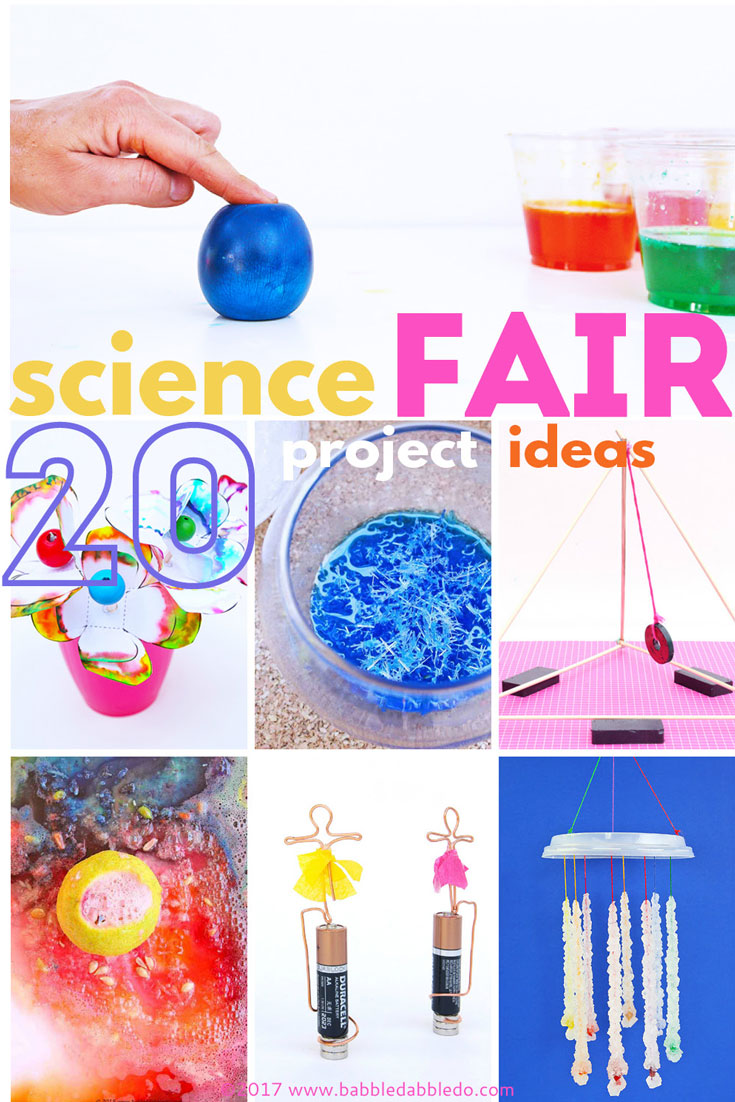 science fair projects for kindergarteners