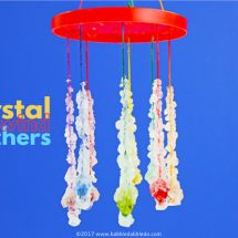 No-Fail Crystals: Borax Crystal Wind Catchers