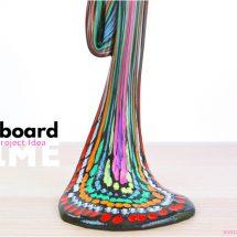 Artsy Slime Recipe: Chalkboard Slime
