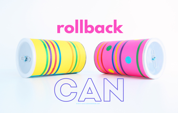 Physics Project Idea: Rollback Can
