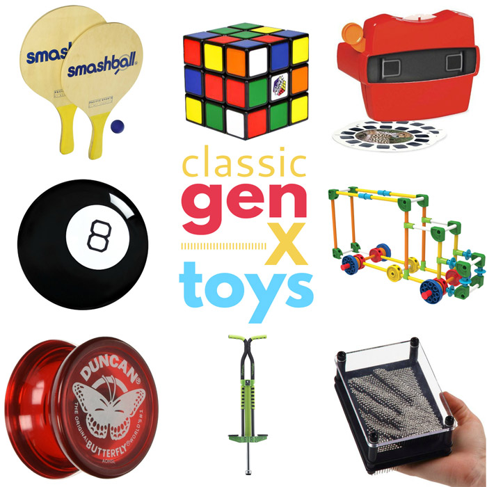 Classic Gen X Toys Your Kids Will Love